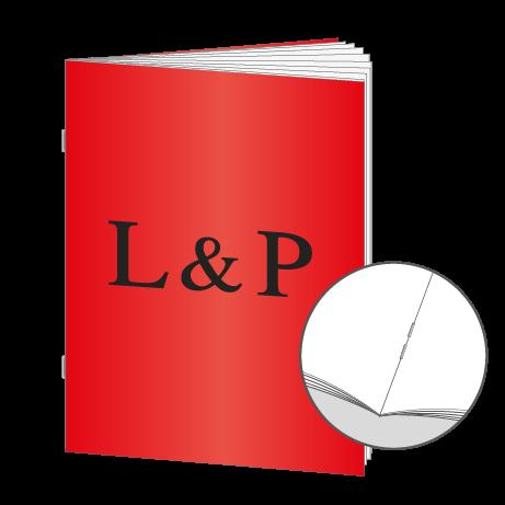 Broschüren Drahtheftung DIN A6