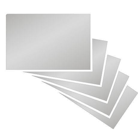 Visitenkarten | Chromeffekt | einseitig
