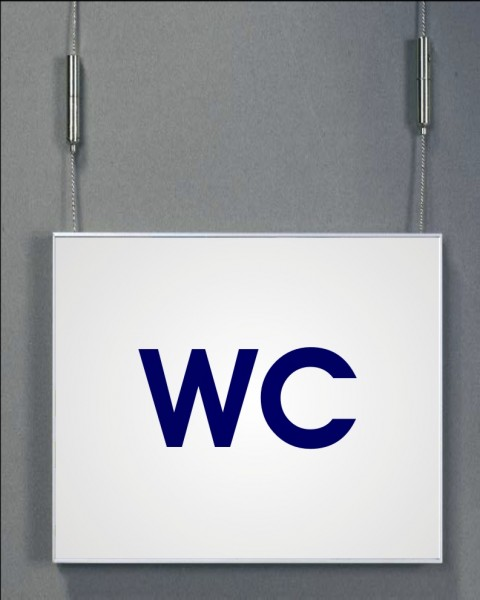 Deckenhänger   System Karlsruhe   59,4 cm x 15 cm